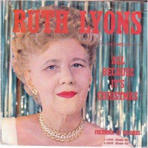 LYONS RUTH - 1960 10 A