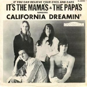 MAMAS AND PAPAS - 1965 11-1 A