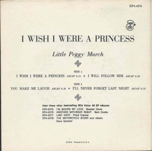 MARCH LITTLE PEGGY - 1963 01 B