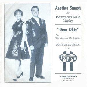 MOSBY JOHNNY & JONIE - 1961 10 A