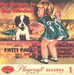 PAGE PATTI - 1950'S A