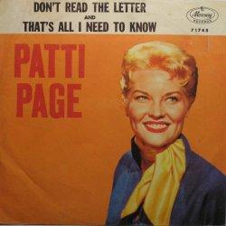 PAGE PATTI - 1960 12 A