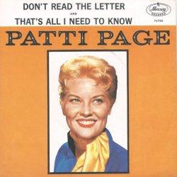 PAGE PATTI - 1960 12 B