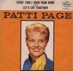 PAGE PATTI - 1962 10 A