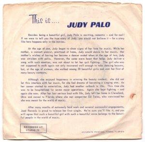 PALO JUDY - 1960'S 01 B