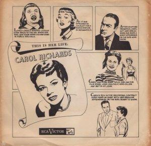 RICHARDS CAROL - 1956 01 A