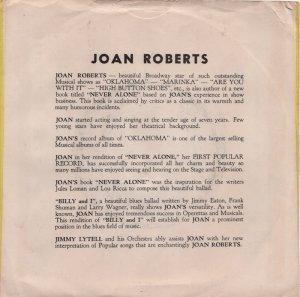 ROBERTS NORMA - 1954 01 B