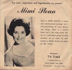 SLOAN MIMI - 1950'S 01 A