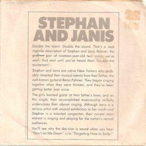 STEPHAN AND JANIS - 1966 06 B