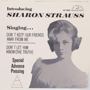 STRAUS SHARON - 1962 08 A