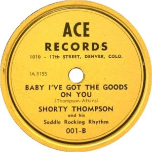 THOMPSON SHORTY - ACE 3154 B