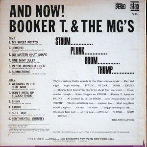 1966-01 STAX 711 BOOKER T MGS B