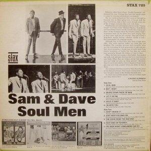 1967-10 SAM & DAVE STAX 725 US B