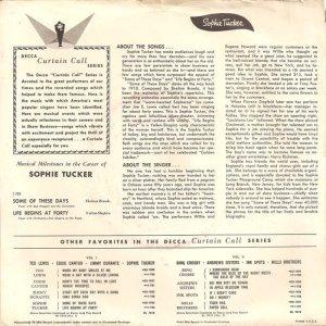 TUCKER SOPHIE - 1952 01 B