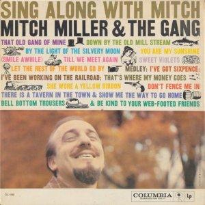 1958 - MITCH MILLER SING ALONG A