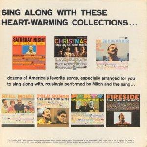 1958 - MITCH MILLER SING ALONG B