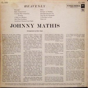 1959 - JOHNNY MATHIS HEAVENLY B