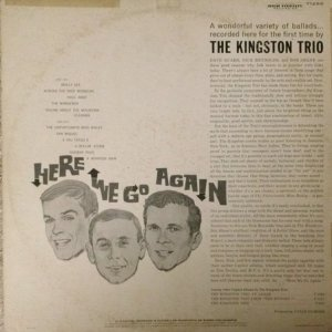 1959 - KINGSTON TRIO HERE WE GO B