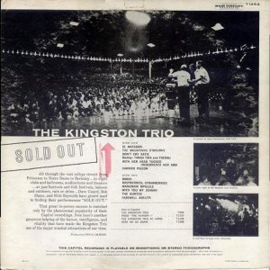 1960 - KINGSTON TRIO - SOLD OUT B