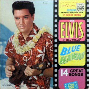 1961 - ELVIS BLUE HAWAII A