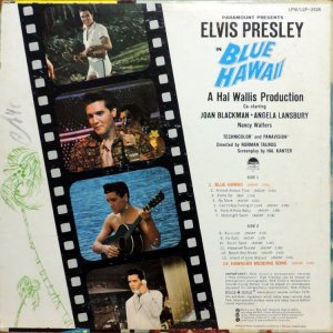 1961 - ELVIS BLUE HAWAII B
