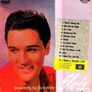 1961 - ELVIS SOMETHING FOR EVERYBODY A