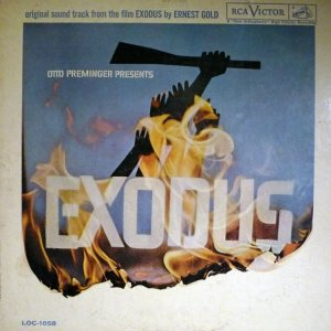 1961 - EXODUS SOUNDTRACK A