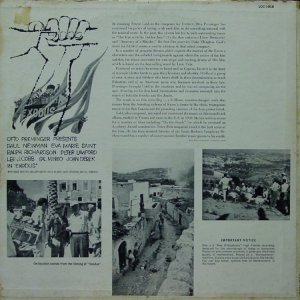 1961 - EXODUS SOUNDTRACK B