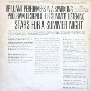 1961 - STARS FOR SUMMMER NIGHT B
