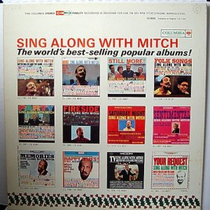 1962 - MITCH MILLER HOLIDAY B