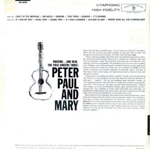 1962 - PETER PAUL AND MARY B