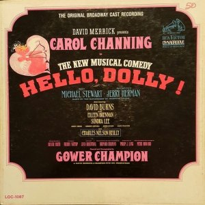 1964 - ORGINAL CAST HELLO DOLLY A