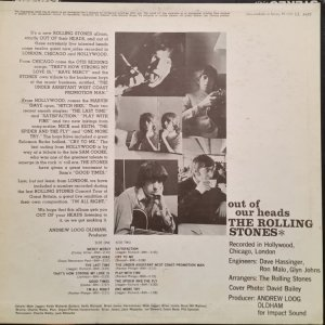 1965 - ROLLING STONES - OUT OF OUR HEADS B