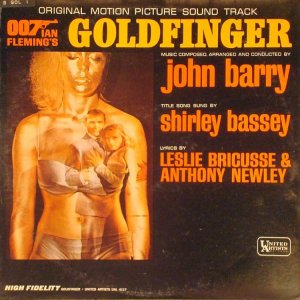 1965 - SOUNDTRACK - GOLDFINGER A