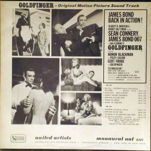 1965 - SOUNDTRACK - GOLDFINGER B