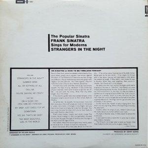 1966 - SINATRA FRANK - STRANGERS B