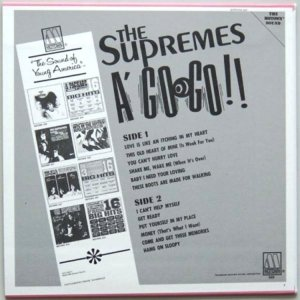 1966 - SUPREMES A GO GO B