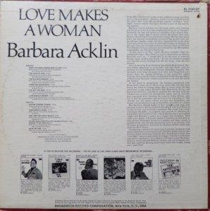ACKLIN BARBARA 1968 B