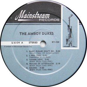 AMBOY DUKES 1968 C