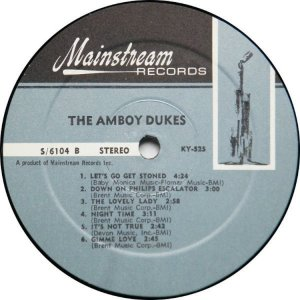 AMBOY DUKES 1968 D