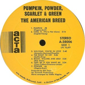 AMERICAN BREED 1968 C