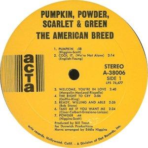 AMERICAN BREED 1968 C