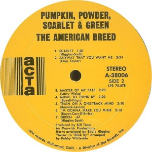 AMERICAN BREED 1968 D