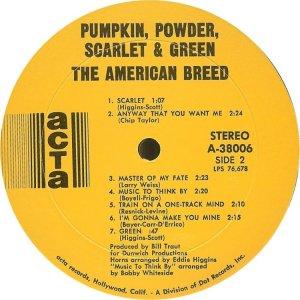 AMERICAN BREED 1968 D