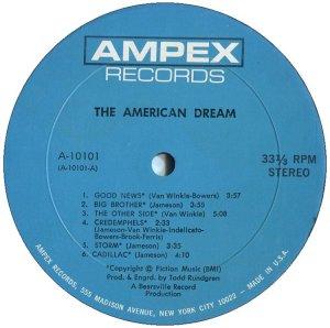 AMERICAN DREAM 1969 C