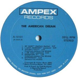AMERICAN DREAM 1969 D
