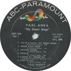 ANKA PAUL 1959 C
