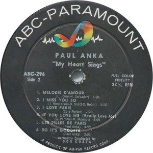 ANKA PAUL 1959 D