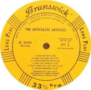 ARTISTICS 1968 C