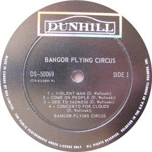 BANGOR FLYING CIRCUS 1969 C